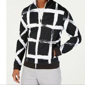 Alfani checkered lightweight jacket